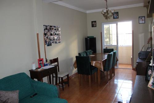 Imagem 1 de 14 de Apartamento 2 Quartos - Sala 2 Ambientes Reformado - Santos
