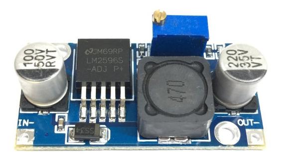 4x Regulador De Tensão Step Down Dc-dc Lm2596