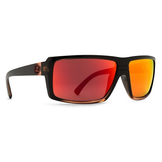 Lentes Von Zipper Snark Mindglo Black Orange / Lunar Glo