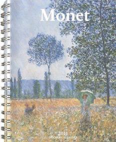 Livro Em Inglês - Monet 2011 Taschen Calendar