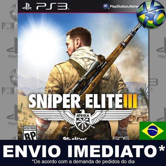 Sniper Elite 3 Ps3 Psn Legendas Português Br Jogo Promoção