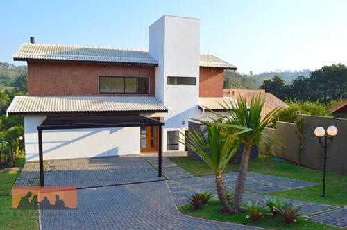Imagem 1 de 30 de Casa  Residencial Para Venda E Locação, Condomínio Quinta Dos Jatobás, Sousas, Campinas. - Ca1039