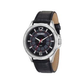 Relógio Mondaine Masculino Prata/preto 83374g0mvnh1