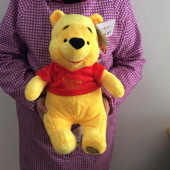 Ursinho Pooh (puff)35cm Pelúcia Original Disney Antialérgico