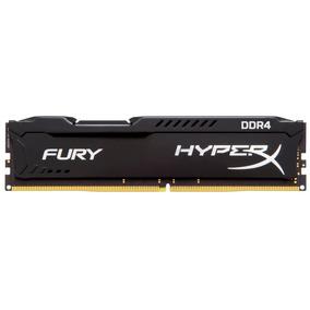Hyperx Fury Gamer Memória Kingston 8gb Ddr4 2400mhz