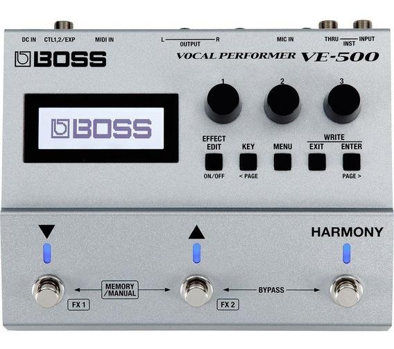 Pedal Para Voz Boss Ve-500 Vocal Performer Chorus Reverb