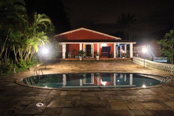 Casa Em Juquitiba Com 4 Dormitórios, Sendo 3 Suites + 5 Suites De Hóspedes - Fa2815