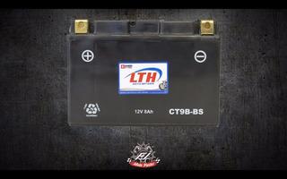 Moto Bateria Lth Ct9b-bs Agm Libre De Mantenimiento