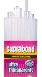 Barra Fina 30cm Adhesiva Pegamento Suprabond 500g Artesano