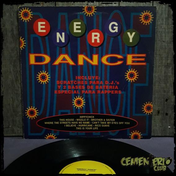 Energy Dance - Dj´s Scratches Base Rappers - Vinilo Lp