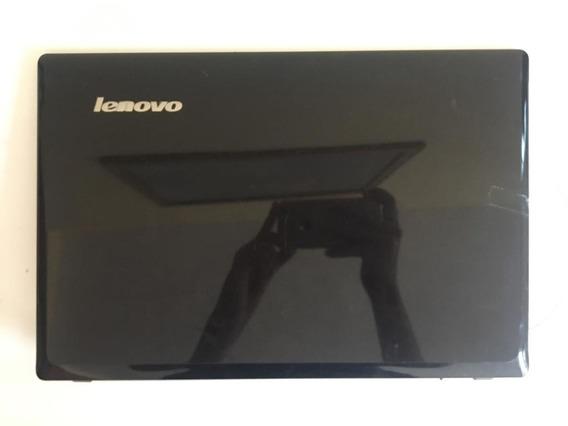 Carcaça Tampa Da Tela Notebook Lenovo G485 - Usado