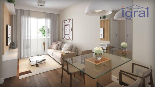 Apartamento À Venda, 35 M² Por R$ 240.000,00 - Jardim Oriental - São Paulo/sp - Ap1305