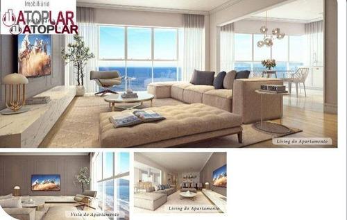 Apartamento À Venda, 189 M² Por R$ 5.290.000,00 - Meia Praia - Itapema/sc - Ap0778