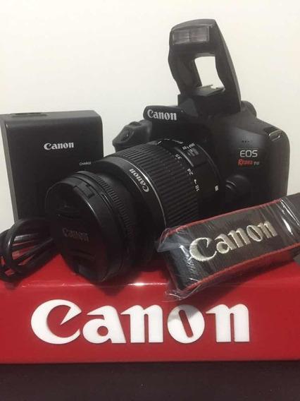 Cânon T6 Kit 18-55m C/ 6 Mil Clicks C/wi-fi Já + Cartão Sd