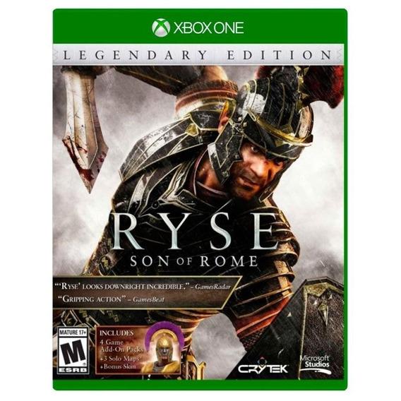Ryse Son Of Rome Legendary Edition Xbox One Mídia Física