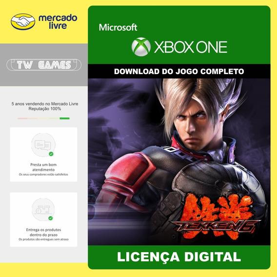 Tekken 6 Digital Original Retrocompativel Xbox One