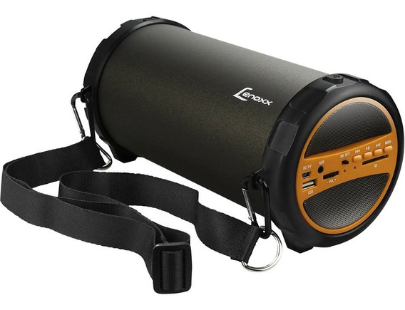 Caixa De Som Portátil Lenoxx Speaker Bluetooth Bt530 Bivolt