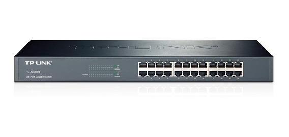 Switch 24 Puertos Gigabit 10/100/1000 Tl-sg1024 Tp-link