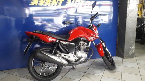 Honda Cg 160 Fan Vermelha 2019