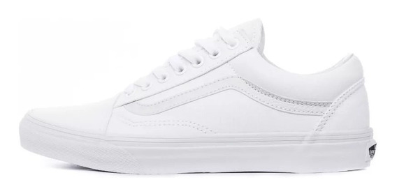 Zapatillas Vans Old Skool Blanco 100% Original Importada