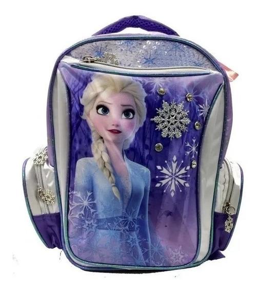 Mochila Espalda 12p Elsa Wab 59313 Frozen Educando