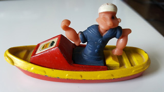 Miniatura Made In Gt Britain Popeye Corgi Barco