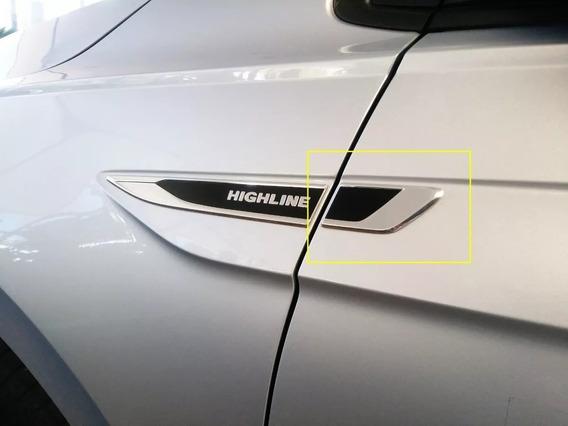 Par Adesivo Emblema Complementar Polo Virtus Volkswagen