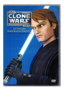 The Clone Wars Guerra Clones Star Wars Temporada 3 Tres Dvd