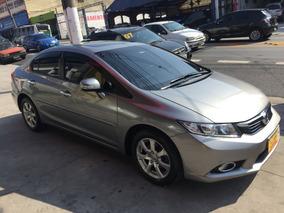 Honda Civic Exr 2.0 Flex - Top De Linha - Teto Solar