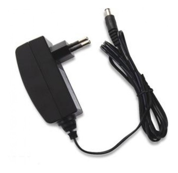 Fonte 12v Dc 1a Conector P4 Bivolt Ideal Para Cftv