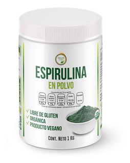 Alga Espirulina 1 Kg. Orgánica Premium