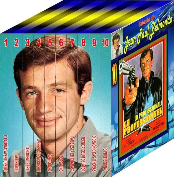 Coleção Imperdível De Jean Paul Belmondo 10 Dvds