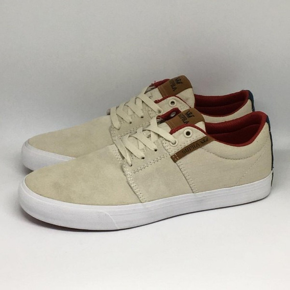 Tênis Supra Stacks Vulc White Navy