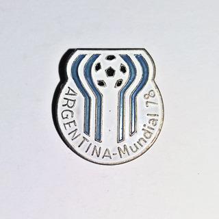Pin Prendedor Mundial De Futbol Fifa Argentina 78 Esmaltado