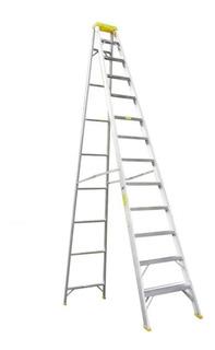 Ea Escalera Tijera Aluminio 13 Pasos (3.90m) T-i Fanes Ea218