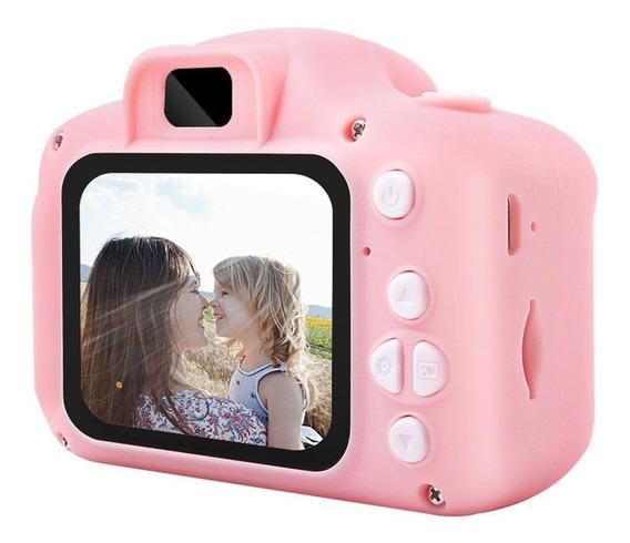 Tela Hd Carregável Digital Mini Câmera Crianças Cartoon Boni