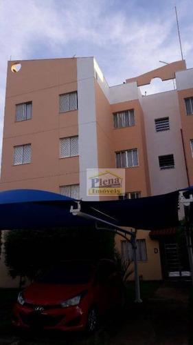 Imagem 1 de 10 de Apartamento Residencial À Venda, Jardim Nova Hortolândia I, Hortolândia. - Ap0765