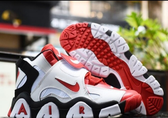 Tênis Nike Barrage Vermelho E Branco Na Caixa