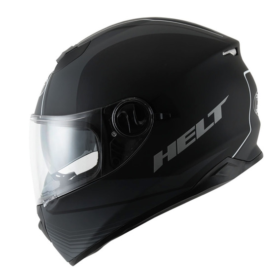 Capacete Helt New Race Glass Road Preto Fosco 58