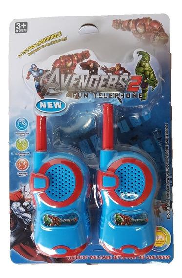 Brinquedo Walkie Talkie Vingadores Avangers