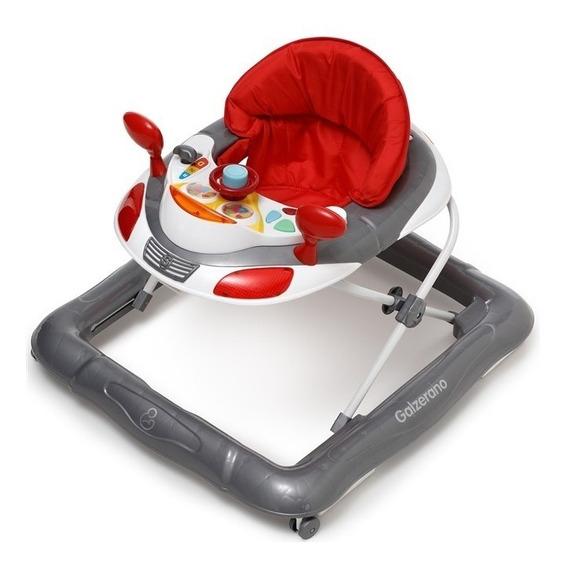 Andador Para Bebê Magic Cinza Galzerano
