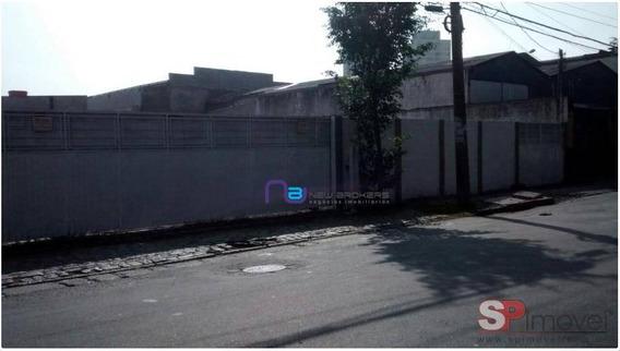 Terreno Para Alugar, 1350 M² Por R$ 8.000/mês - Parque Novo Mundo - São Paulo/sp - Te0097