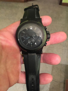 Reloj Michael Kors Original. Negro, Pesado, Único