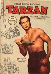 Tarzan (1ª Série) Nº 4 - Excelente Estado - Frete Grátis