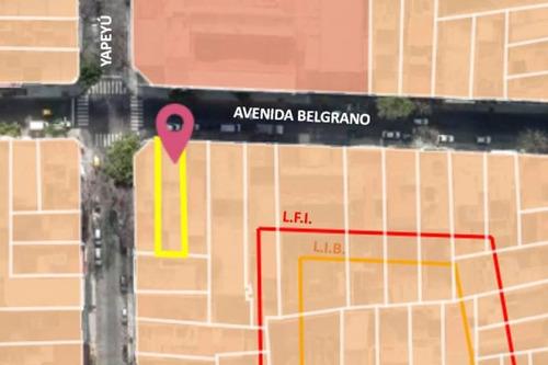 Venta De Terreno En Almagro, Sobre Avenida Belgrano