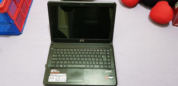 Notebook Sti Na1401 4gb Ram 320 Gb Hd Windows 7 Bateria Ok