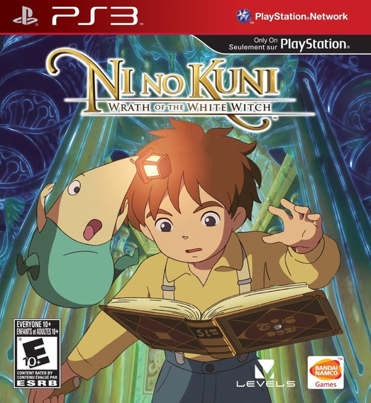 Ni No Kuni Wrath Of The White Witch - Psn Ps3 Play 3