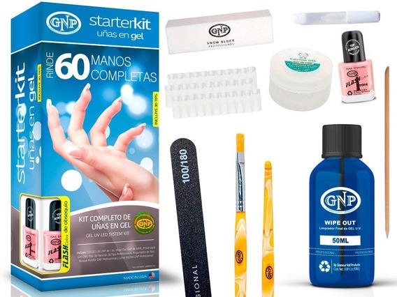 Kit Uñas En Gel Gnp Rinde 60 Manos Completas