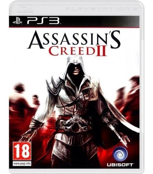Assassins Creed 2 Ii - Mídia Física / Ps3