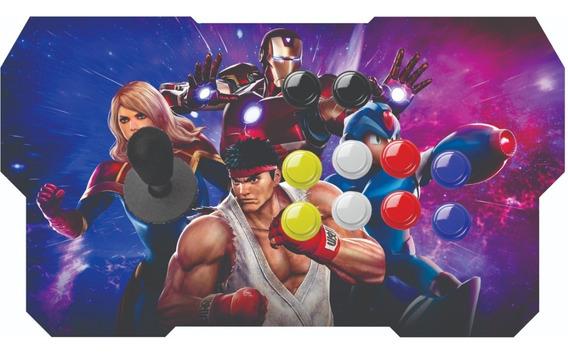 Controle Zero Delay Profissional Playstation 3 E 4 - Arcade Usb Promoção Melhor E Mais Barato Do Ml Aproveite!!!